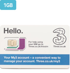 Three Mobile 1GB