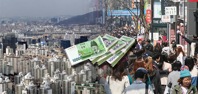 Korea's household debt hit record $1.5 bn Q3 amid stock, housing frenzy