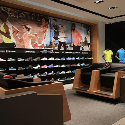 Under Armour opens its second biggest store in Gangnam