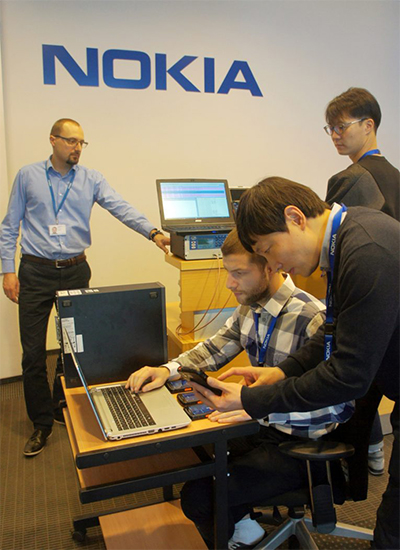 SK Telecom develops new wireless communication technology with Nokia