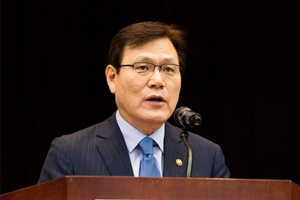 FSC Chairman Choi Jong-ku [Photo by The Financial Services Commission]