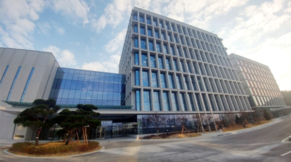LIG Nex1 R&D center in Daejeon