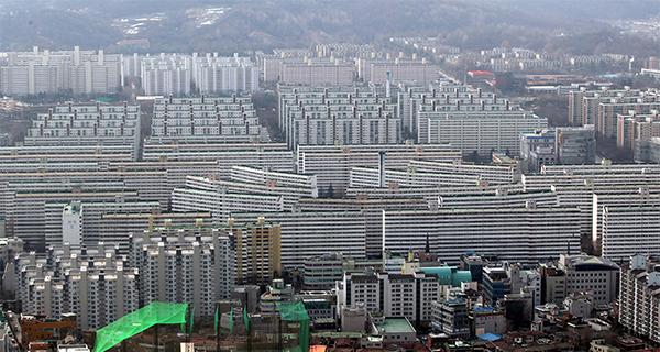 Daechi Dong Apartment Complex In Gangnam Gu