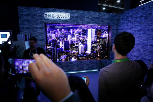 Samsung's modular TV becomes the top award-winning product at 2018