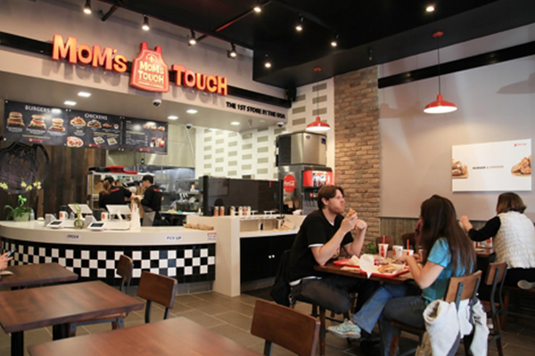 Mom`s Touch`s first store in the U.S. [photo by Mom`s Touch] <br><br>