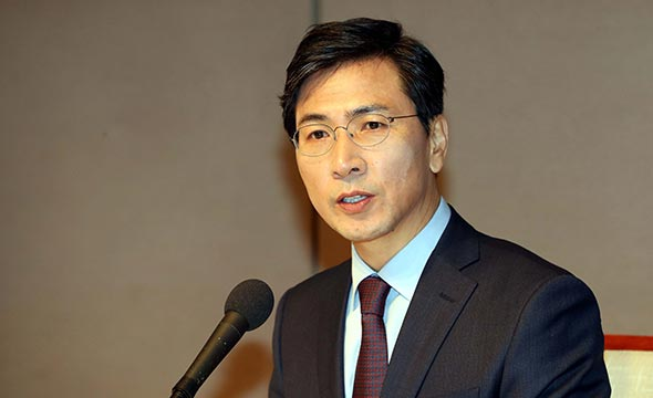 Korea's governor and presidential hopeful An Hee-jung