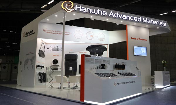 Exhibition Booth Materials : Hanwha advanced materials to exhibit automotive materials in paris