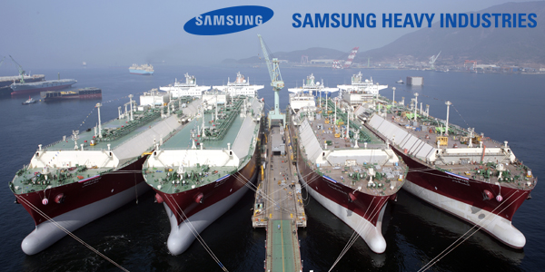 Samsung Heavy Industries gets relief from sister companies - 매일 ...