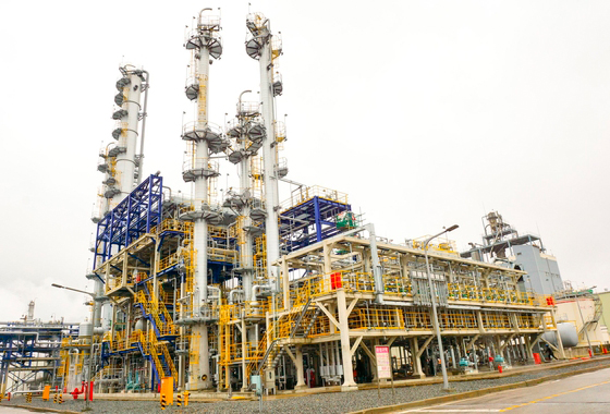 Hanwha Total Petrochemical`s normal heptane plant.