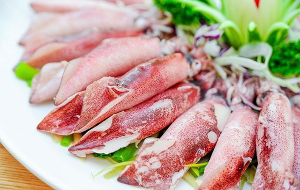 Export of squid and octopus to Russia has increased sharply since early this year. [Photo vinanet.vn]