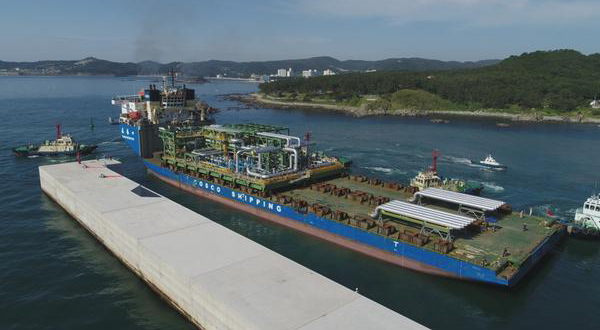 DSME ships two modules for TCO oil plant project - 매일경제