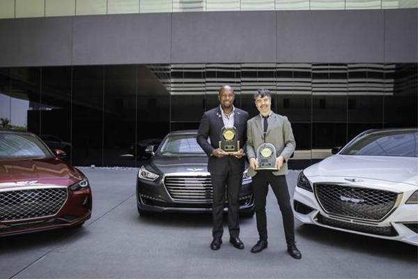 Genesis, Kia, and Hyundai win top rankings in J D  Power Initial
