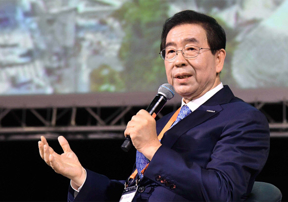 Seoul Mayor Park Won-soon.
