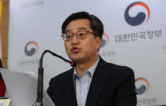 Deputy Prime Minister and Finance Minister Kim Dong-yeon