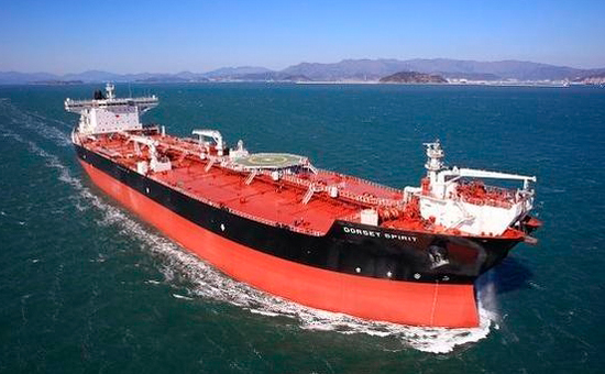 Samsung Heavy industry`s shuttle tanker. [Photo by Samsung Heavy Industry]