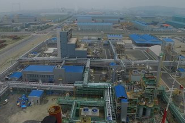 Toray Industries Inc.`s polyphenylene sulfide (PPS) resin manufacturing plant in Gunsan, Korea. [Photo provided by North Jeolla provincial government office]
