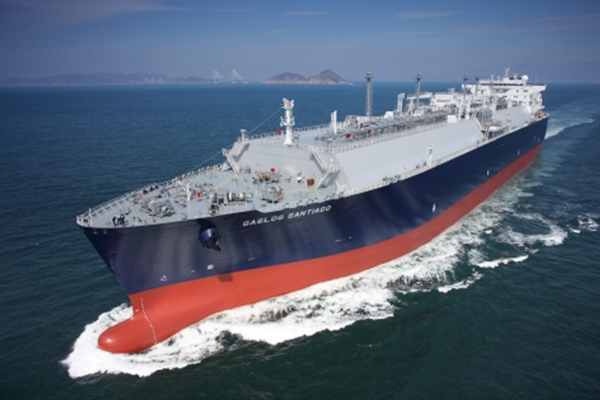 Samsung Heavy Industries`s LNG carrier.