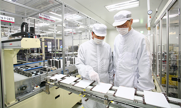 LG Chem`s electric vehicle battery manufacturing plant.