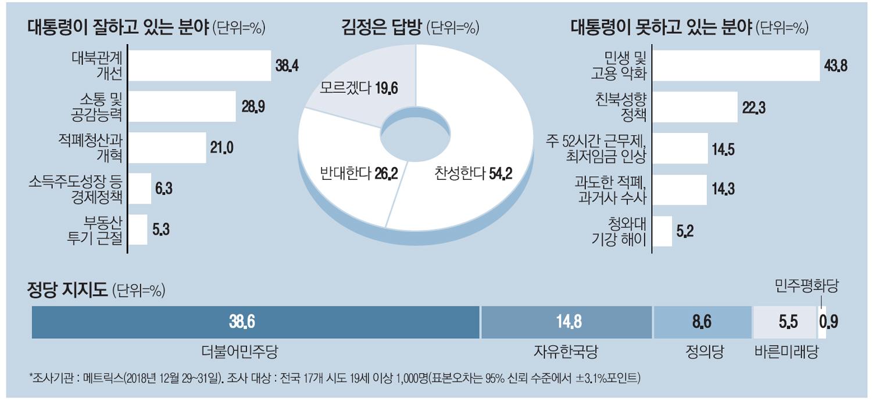 [2019 신년기획] 文정부 경제정책 평가 `낙제점`…가장 잘한 일은 `대북정책`