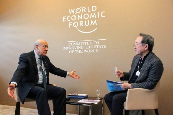 [Photo by Davos Special Report Team]