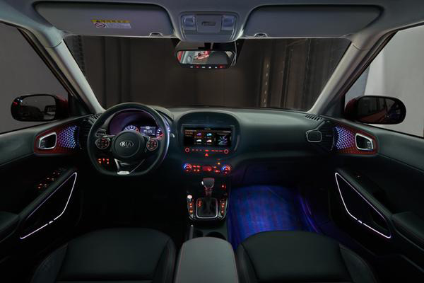 Soul Booster The Next Generation Compact Crossover Will Bear Smart Interior Lighting System Sound Mood Lamp When It Becomes Available In First