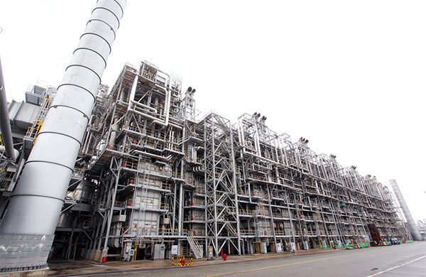 LG Chem`s NCC facility in Yeosu, South Jeolla Province.