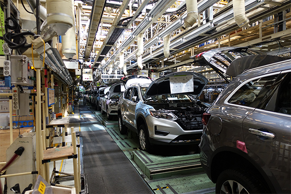 Production at Renault Samsung Motors' manufacturing facility in Busan has been halted due to partial strike. [Photo provided by Renault Samsung Motors Co.]