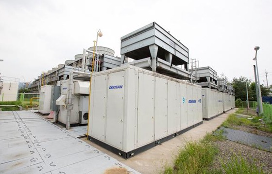Doosan to spin off fuel cell and OLED material business