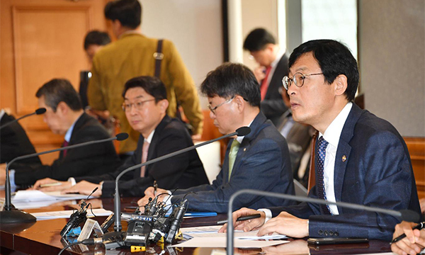 Lee Ho-seung, the first vice minister of economy and finance