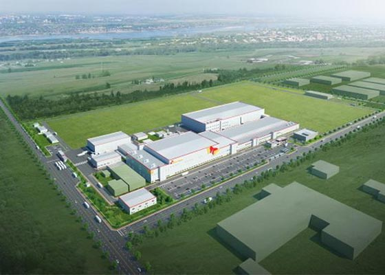 SK Innovation`s EV battery plant in Hungary. [Photo by SK Innovation Co.]