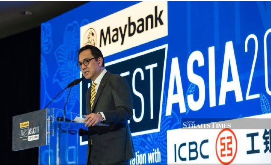 Malayan Banking Bhd president and chief executive officer Datuk Abdul Farid Alias says the banking group will continue to invest in Asean, amid global uncertainties and trade tensions between the US and China. Pix courtesy of Maybank.