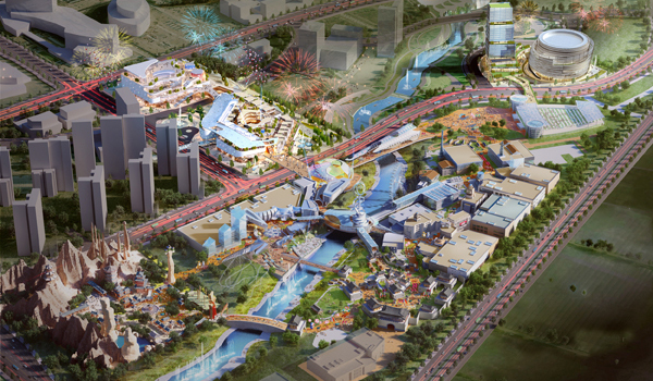 [Rendering of CJ LiveCity /provided by CJ LiveCity Corp.]