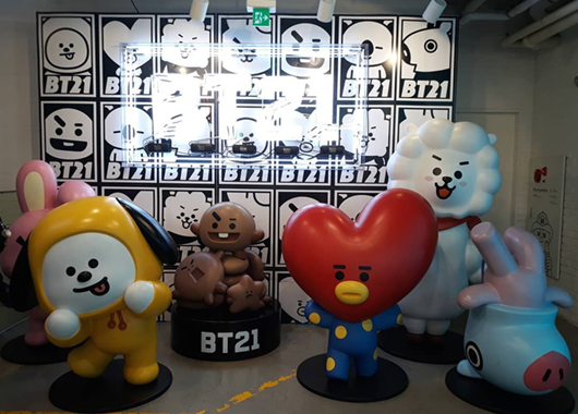 Line Friends flagship store in Itaewon