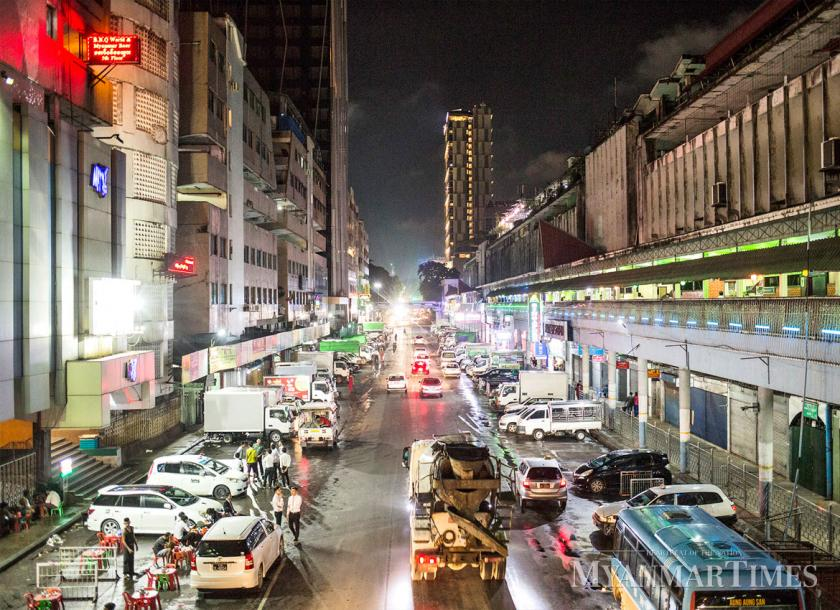 Yangon experienced rolling blackouts this year as a result of a shortage of power. Zarni Phyo/The Myanmar Times