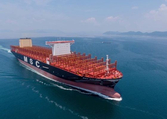 Samsung Heavy completes world's largest 23,000 TEU container ship ...