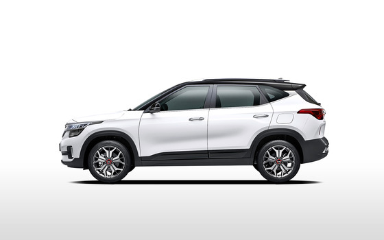 Kia Motors Corp.'s SUV Seltos. [Photo by Kumho Tire Co.]