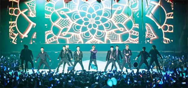 K팝 아이돌그룹의 중동지역 공연이 잇따르고 있다. 지난달 슈퍼주니어가 사우디아라비아에서 아시아 가수 최초로 펼친 단독 공연은 전체 티켓이 3시간 만에 매진됐다.  [사진 제공=레이블SJ]
