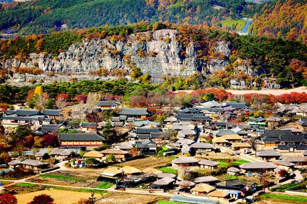 경북 안동 하회마을. [사진 제공 = 코레일·한국관광공사]