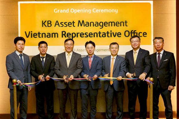 Korea's KB Asset Management opens its 3rd overseas office in