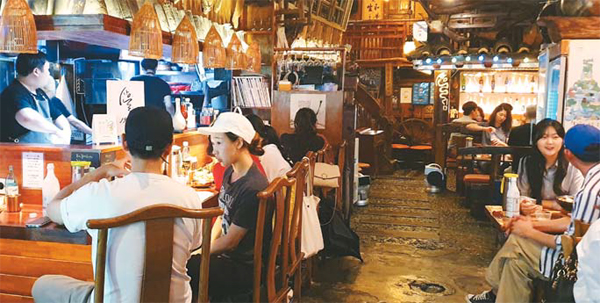 서울 마포구 전통 주점 `산울림1992`의 지난 7월 전통주 매출액은 전년 대비 36% 증가했다.
