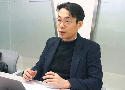JLK Inspection CEO Kim Dong-min