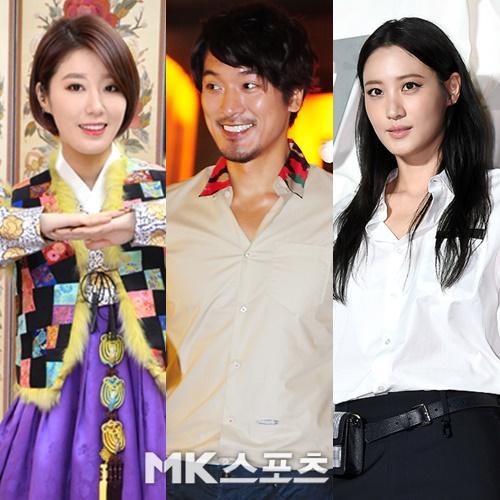 가수 나비, 배우 김민준, 수현 등이 결혼 소식을 전했다. 사진=옥영화 기자, DB, MBN스타 DB