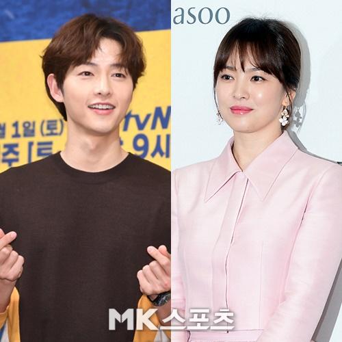 배우 송중기와 송혜교가 지난 6월 파경 소식을 전했다. 사진=김재현, 옥영화 기자
