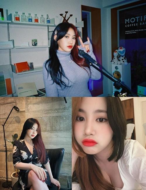가수 박지민이 도 넘는 성희롱에 일침을 가하며 법적 대응을 예고했다. 사진=박지민 인스타그램