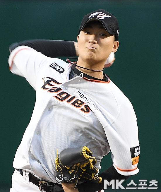 김이환은 2019년 11경기 4승 3패 평균자책점 4.26을 기록하며 신인 첫 시즌부터 강렬한 인상을 남겼다. 사진=김영구 기자