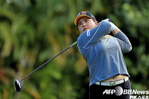 박인비는 13일 호주 애들레이드에서 LPGA 투어 한다 호주여자오픈 1라운드에서 6언더파 67타로 이정은6과 공동 2위에 올랐다. 사진=ⓒAFPBBNews = News1