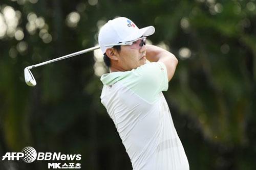 강성훈이 PGA 투어 제네시스 인비테이셔널 2라운드에서 공동 5위로 올라섰다. 사진=ⓒAFPBBNews = News1