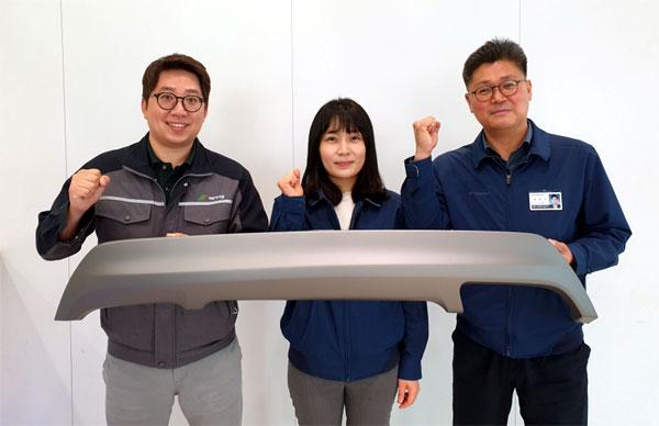 왼쪽부터 박기훈 선임연구원, 최민진 책임연구원, 성한기 책임매니저.