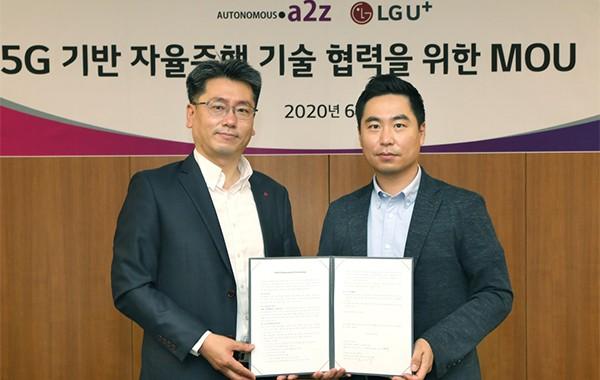 LG Uplus und Autonomous A2Z