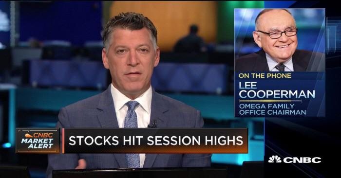 월가의 베테랑 투자 전문가이자 오메가 어드바이저의 레온 쿠퍼만 최고경영자(CEO)는 지난 16일(현지시간) CNBC인터뷰에서